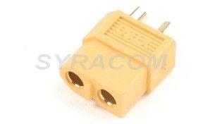 CONNECTEUR DORE XT60 MALE GF-1003-002