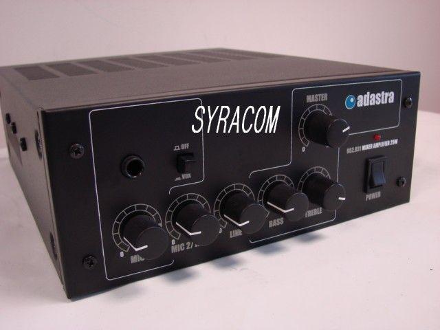 AMPLI ADASTRA 952.931 25 WATTS SYRACOM RADIOCOMMUNICATION ESLETTES CIBI CB NORMANDIE ROUEN