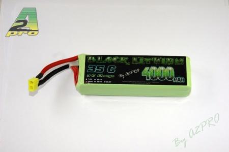 black lithium batterie 4000mah 35c 4s syracom modelisme eslettes rouen a2pro