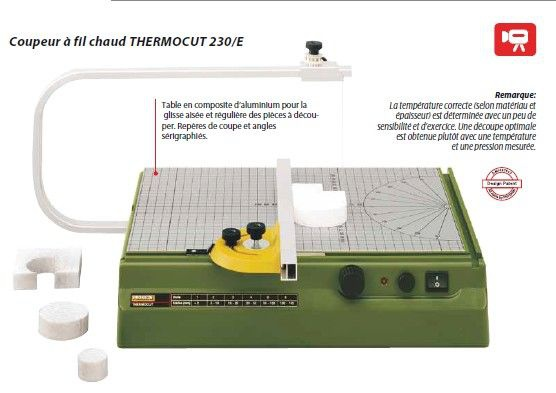 coupeur a fil charud thermocut syracom modelisme eslettes rouen