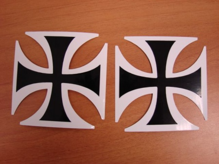 croix force aerienne croix malte autocollante stickers syracom modelisme eslettes rouen seine maritime 76