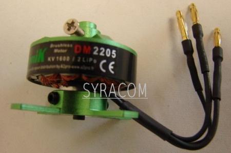 MOTEUR PROTRONIK DM2205KV1600 SYRACOM MODELISME AVION RADIOCOMMANDE INDOOR ESLETTES HAUTE NORMANDIE