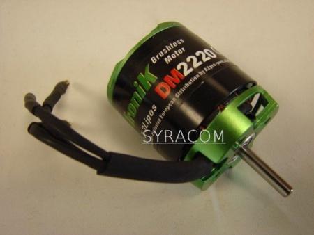 MOTEUR PROTRONICK DM2220KV1100 SYRACOM MODELISME ESLETTES AVION RADIOCOMMANDE INDOOR