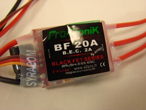 CONTROLEUR PRO-TRONIK 78020 BF20A SYRACOM MODELISME ESLETTES ROUEN