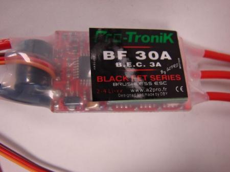 CONTROLEUR PROTRONIK BF30A 78030 A2PRO SYRACOM MODELISME AVION RADIOCOMMANE ESLETTES MAGNUM