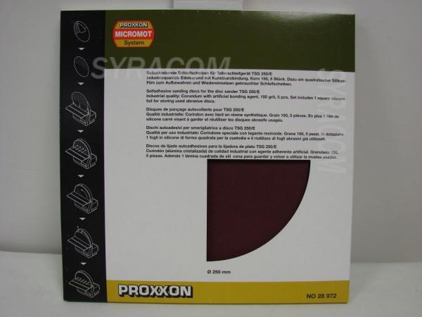 disque abrasif en corindon proxxon pour TSG 250E SYRACOM MODELISME ESLETTES MAQUETTES BOIS AVION BATEAU PLANEUR VOITURE