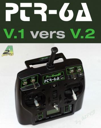 PTR-6 RADIOCOMMANDE FUTABA V2 PRO TRONIK SYRACOM MODELISME ESLETTES ROUEN