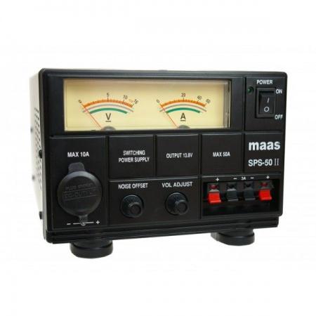 ALIMENTATION MASS SPS-50 II RADIOCOMMUNICATION ESLETTES SYRACOM ANTENNES CIBI REPARATION ROUTIER TRANSPORTEURS CAMION