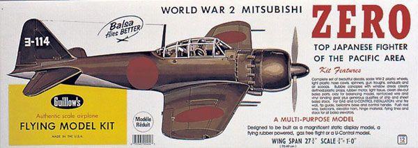 MAQUETTE BOIS A CONSTRUIRE AVION WWII ZERO SYRACOM MODELISME ESLETTES MODELISME AEROMODELISME