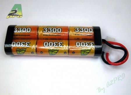 6332F PACK 7.2V AP 3300SC ACCUS BATTERIE SYRACOM MODELISME ESLETTES