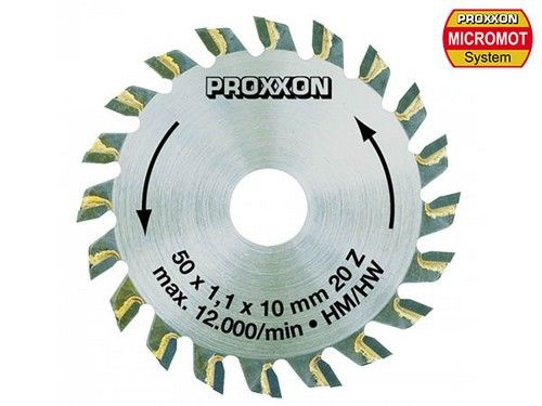 lame de scie circulaire 27006 proxxon diamètre 50 mm syracom modélisme