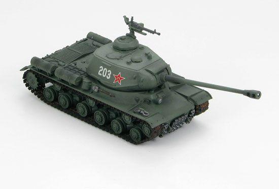 TANK CHAR MINIATURE JS2 RUSSE HEAVY 1 -72 SYRACOM MODELISME ESLETTES