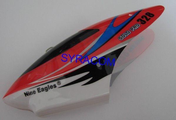 VERRIERE NINE EAGLES SOLO PRO 328 SYRACOM MODELISME ESLETTE HELICO VOITURE MAQUETTE