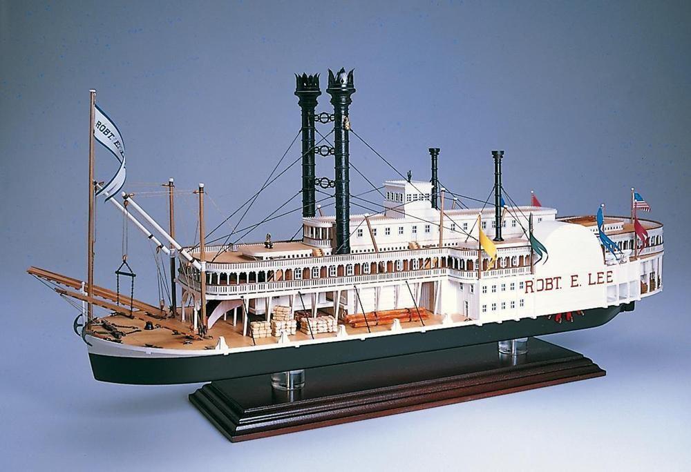 maquette bateau kit a construire robert e.lee b1439 syracom modelisme eslettes rouen