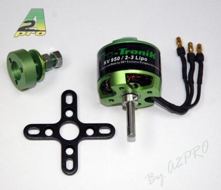 MOTEUR ELECTRIQUE PROTRONIK DM2815-950 SYRACOM MODELISME ESLETTES AVION VOITURE BATEAUX