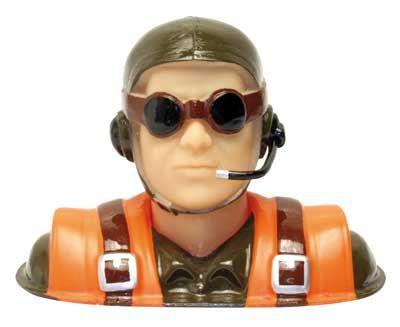 PILOTE P183 HAUTEUR 90 MM AVION RADIOCOMMANDE SYRACOM MODELISME ESLETTES ROUEN
