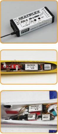 55817 RECEPTEUR RX-5M MULTIPLEX  SYRACOM MODELISME ESLETTES AEROMODELISME AVION RADIOCOMMANDE