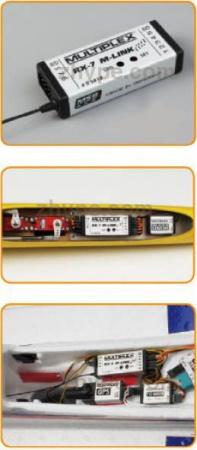 55818 RECEPTEUR RX-7M LINK  MULTIPLEX SYRACOM MODELISME AVION RADIOCOMMANDE ROUEN