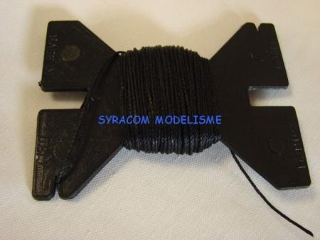 CORDONNET NOIR CORDAGE BATEAU MAQUETTE BOIS BALSA  34310 PRODOTTI MANTUA SYRACOM MODELISME ESLETTES