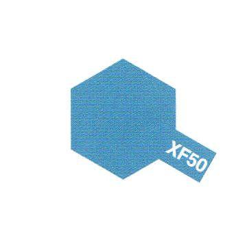 peinture maquette tamiya xf-50 bleu blue mat acrylique bateaux voiture avion bois syracom modélisme eslettes rouen normandie