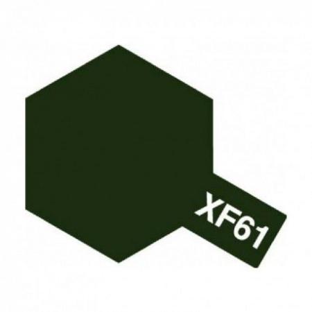 peinture  tamiya maquette XF61 DARK GREEN vert   acrylique char bateau voiture avion bois syracom modelisme eslettes rouen normandie