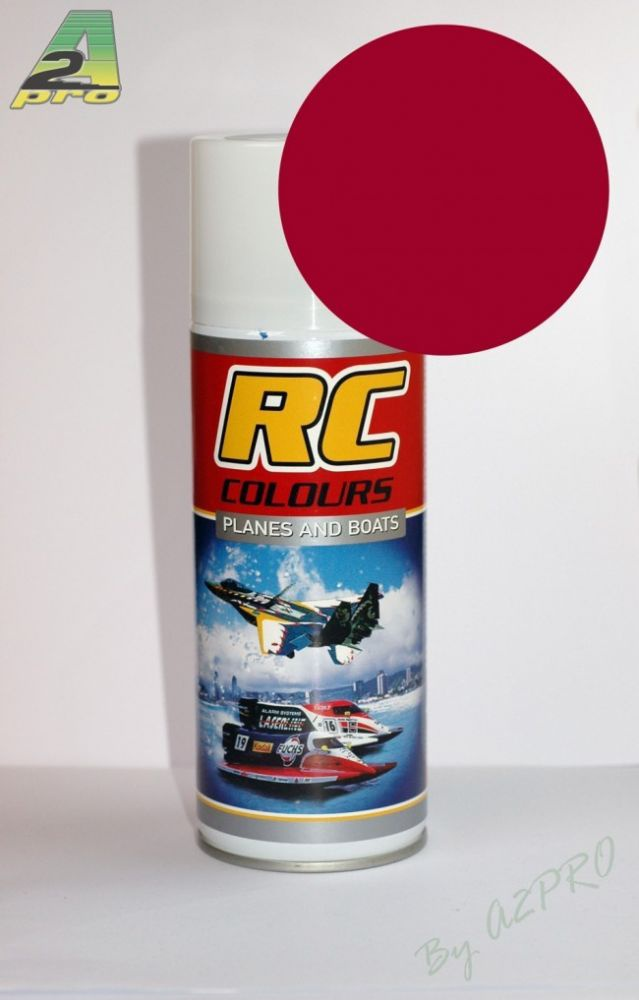 PEINTURE MAQUETTE PLANES AND BOATS AVION BATEAU RC 20 RED ROUGE FONCE