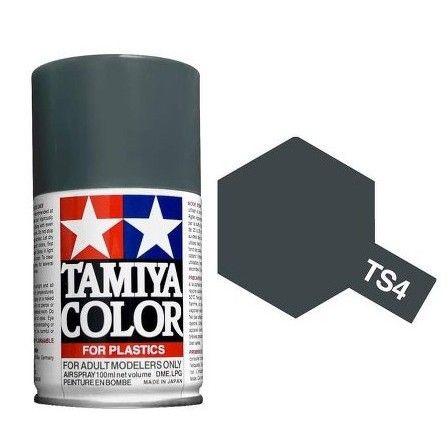 PEINTURE PLASTIQUE TAMIYA 85004 MAQUETTE TS4  GERMAN GREY SYRACOM MODELISME ESLETTES ROUEN NORMANDIE