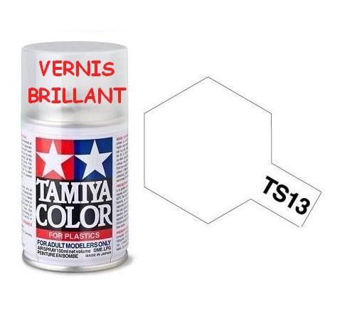 PEINTURE PLASTIQUE TAMIYA  850013  MAQUETTE TS13 VERNIS  BRILLANT  SYRACOM MODELISME ESLETTES ROUEN NORMANDIE