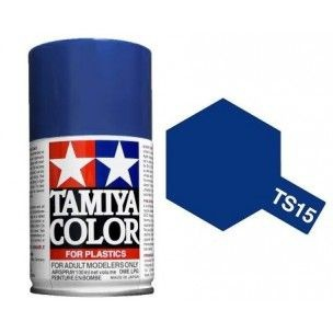 PEINTURE PLASTIQUE TAMIYA  850015  MAQUETTE TS15 BLEU  BRILLANT  SYRACOM MODELISME ESLETTES ROUEN NORMANDIE