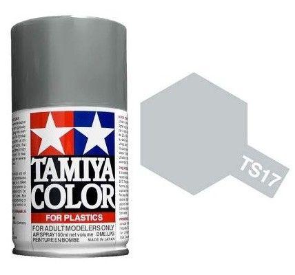 PEINTURE PLASTIQUE TAMIYA  850017  MAQUETTE TS17 ALUMINIUM BRILLANT  SYRACOM MODELISME ESLETTES ROUEN NORMANDIE