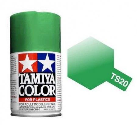 PEINTURE PLASTIQUE TAMIYA  850020  MAQUETTE TS20 VERT METALLIC  SYRACOM MODELISME ESLETTES ROUEN NORMANDIE