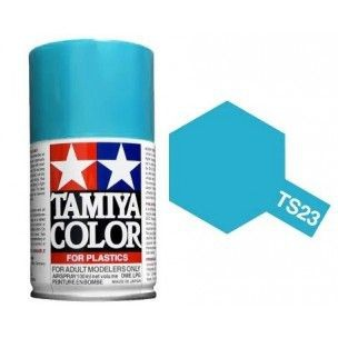 PEINTURE PLASTIQUE TAMIYA  850023  MAQUETTE TS23 BLEU CLAIR  BRILLANT  SYRACOM MODELISME ESLETTES ROUEN NORMANDIE