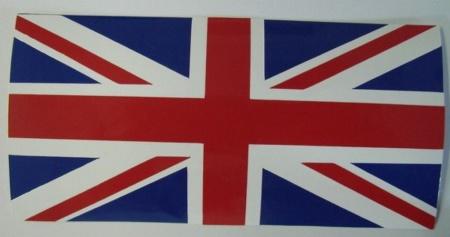 drapeau anglais sticker autocollant rouge blanc bleu