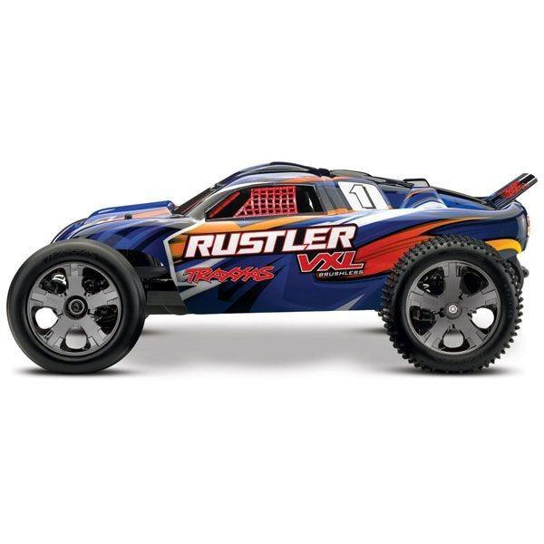 voiture radiocommandee électrique traxxas rustler syracom modelisme eslettes rouen normandie 37076-3
