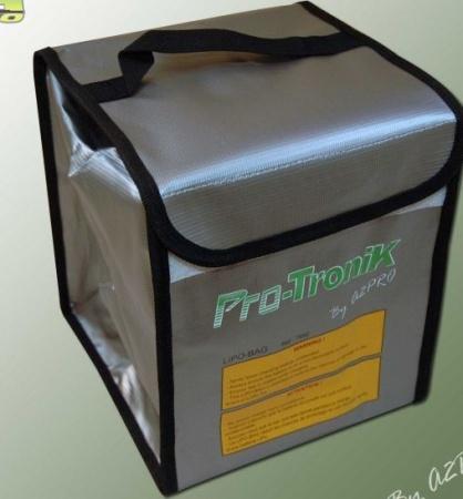 mallette pochette sac lipo-bag anti feu pro-tronik 7692 promodel a2pro syracom modelisme eslettes rouen normandie