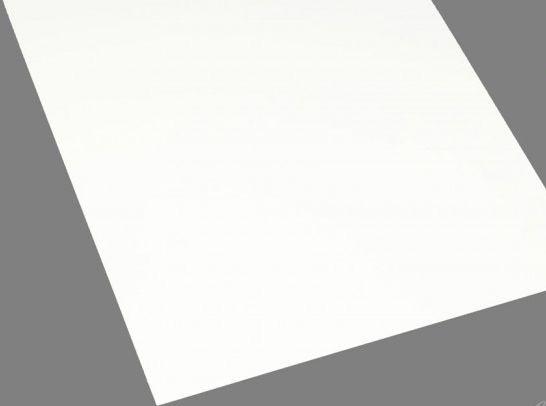 PLAQUE STYRENE BLANC RABOESCH 194X320MM FEUILLE SYRACOM MODELISME ESLETTES ROUEN