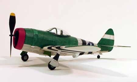 AVION MAQUETTE P-47 THUNDERBOLT 217 DUMAS AIRCRAFT FLYING MODEL SYRACOM MODELISME ESLETTES ROUEN NORMANDIE
