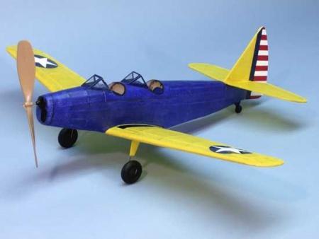 AVION MAQUETTE FAIRCHILD PT-19 224  DUMAS AIRCRAFT FLYING MODEL SYRACOM MODELISME ESLETTES ROUEN NORMANDIE