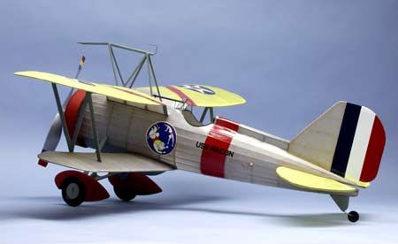 CURTISS F9C-2- SPARROWHAWK 319 KIT DUMAS AIRCRAFT FLYING MODEL LASER CUT SYRACOM MODELISME ESLETTES ROUEN NORMANDIE