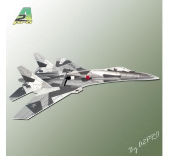 AVION RADIOCOMMANDE INDOOR PRO-TRONIK su-27 100187 SYRACOM MODELISME ESLETTES ROUEN NORMANDIE
