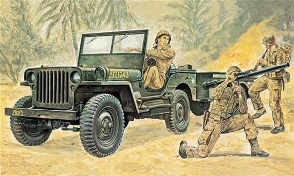 jeep willys maquette syracom modelisme eslettes rouen normandie I314