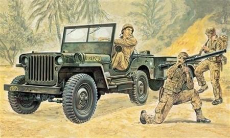 jeep willys maquette syracom modelisme eslettes rouen normandie I314