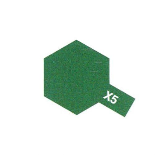 PEINTURE TAMIYA X5 GREEN BRILLANT VERT MAQUETTE SYRACOM MODELISME ESLETTES ROUEN NORMANDIE