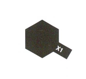 PEINTURE TAMIYA X1 NOIR BRILLANT BLACK MAQUETTE SYRACOM MODELISME ESLETTES ROUEN NORMANDIE BATEAUX VOITURES AVIONS
