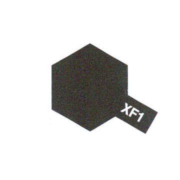 PEINTURE TAMIYA XF1 FLAT BLACK NOIR MAT  MAQUETTE SYRACOM MODELISME ESLETTES ROUEN NORMANDIE BATEAUX VOITURES AVIONS