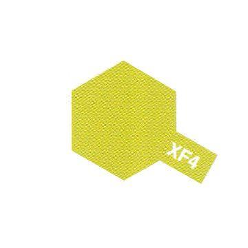 PEINTURE TAMIYA MAQUETTE XF4 YELLOW GREEN VERT JAUNE  SYRACOM MODELISME ESLETTES ROUEN NORMANDIE BATEAUX VOITURES AVIONS