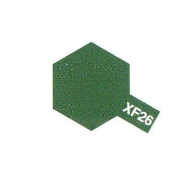 XF26 DEEP GREEN VERT FONCE MAT PEINTURE TAMIYA MAQUETTE SYRACOM MODELISME ESLETTES ROUEN NORMANDIE BATEAUX VOITURES AVIONS