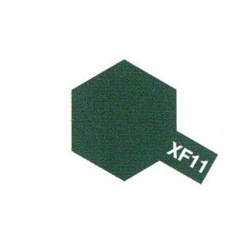 PEINTURE TAMIYA XF11 GREEN JN VERT  MAQUETTE SYRACOM MODELISME ESLETTES ROUEN NORMANDIE BATEAUX VOITURES AVIONS