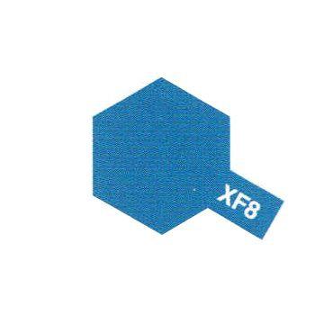 PEINTURE TAMIYA XF8 BLEU MAT BLUE  MAQUETTE SYRACOM MODELISME ESLETTES ROUEN NORMANDIE BATEAUX VOITURES AVIONS