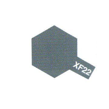 PEINTURE TAMIYA XF22 RLM GREY GRIS MAT MAQUETTE SYRACOM MODELISME ESLETTES ROUEN NORMANDIE BATEAUX VOITURES AVIONS